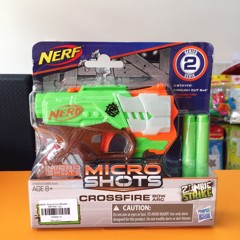 NERF Microshots Blaster and Combats Assortment