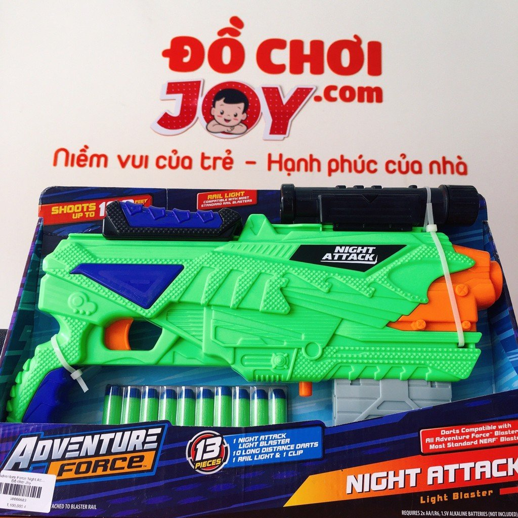 Adventure Force Night Attack Dart Blaster