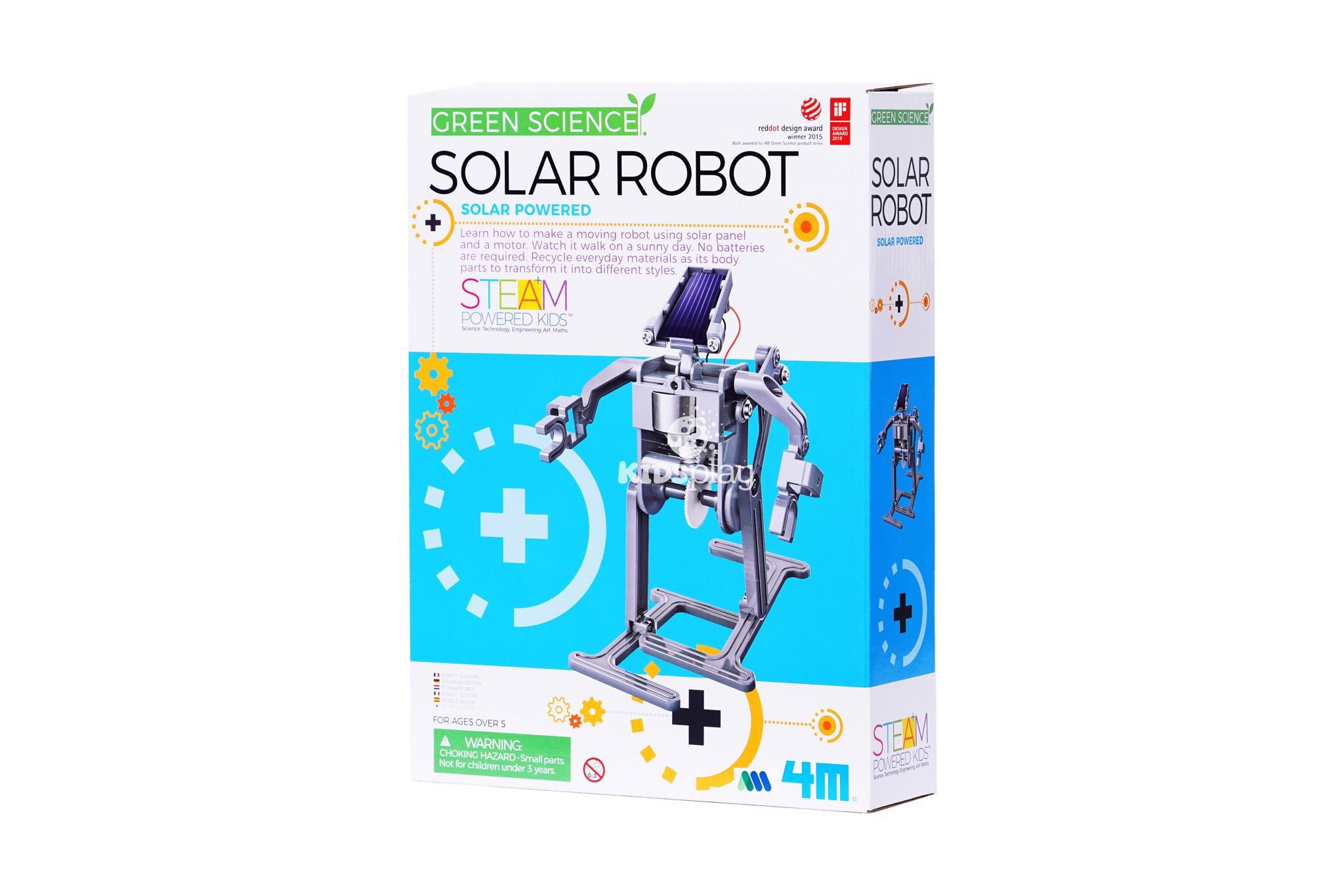 Robot năng lượng mặt trời - Đồ chơi khoa học giá tốt
