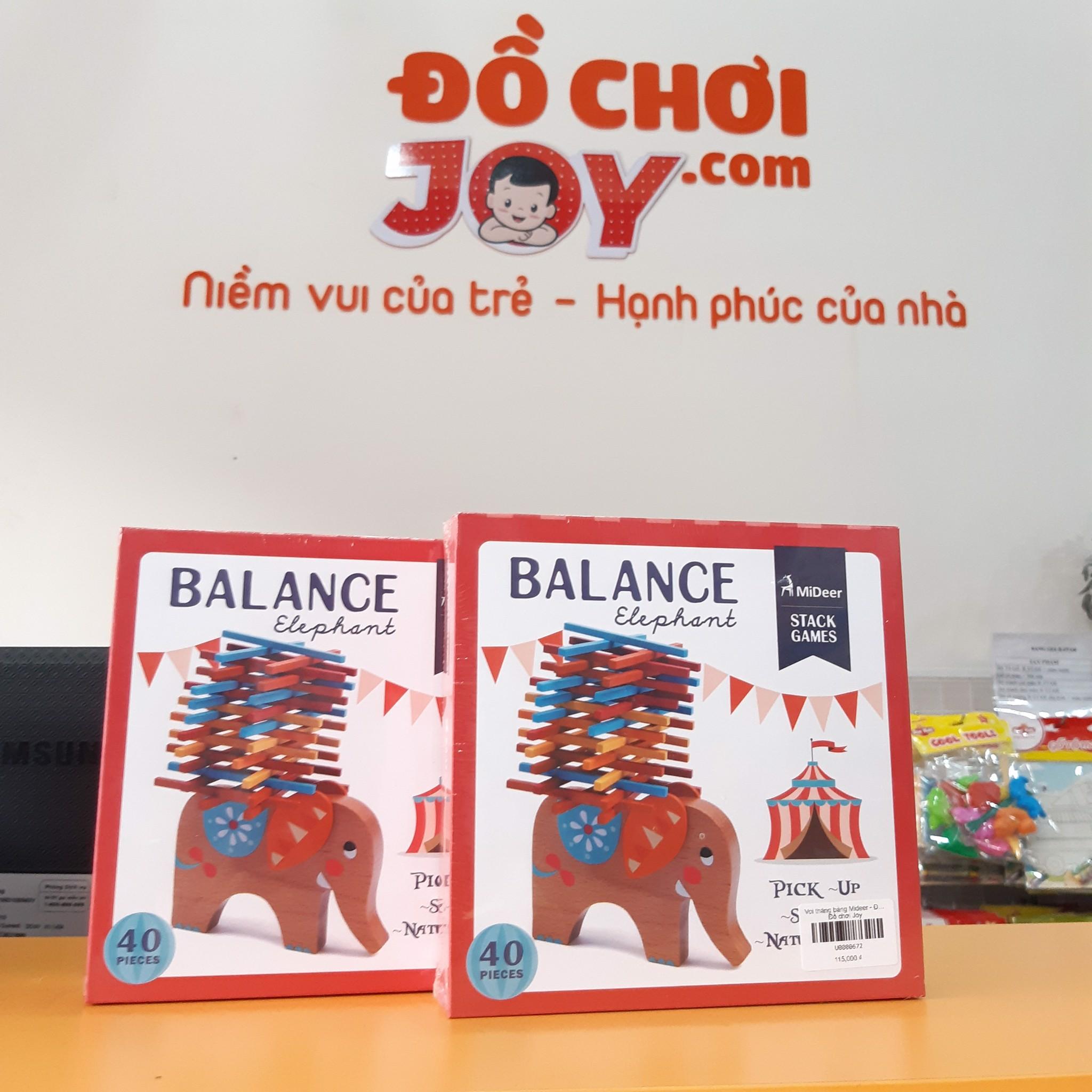 Voi thăng bằng Mideer - Đồ chơi trẻ em