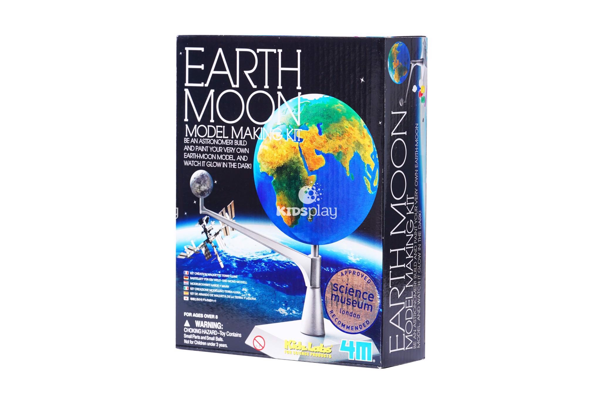 Mô hình trái đất mặt trăng Earth Moon - Đồ chơi khoa học vũ trụ