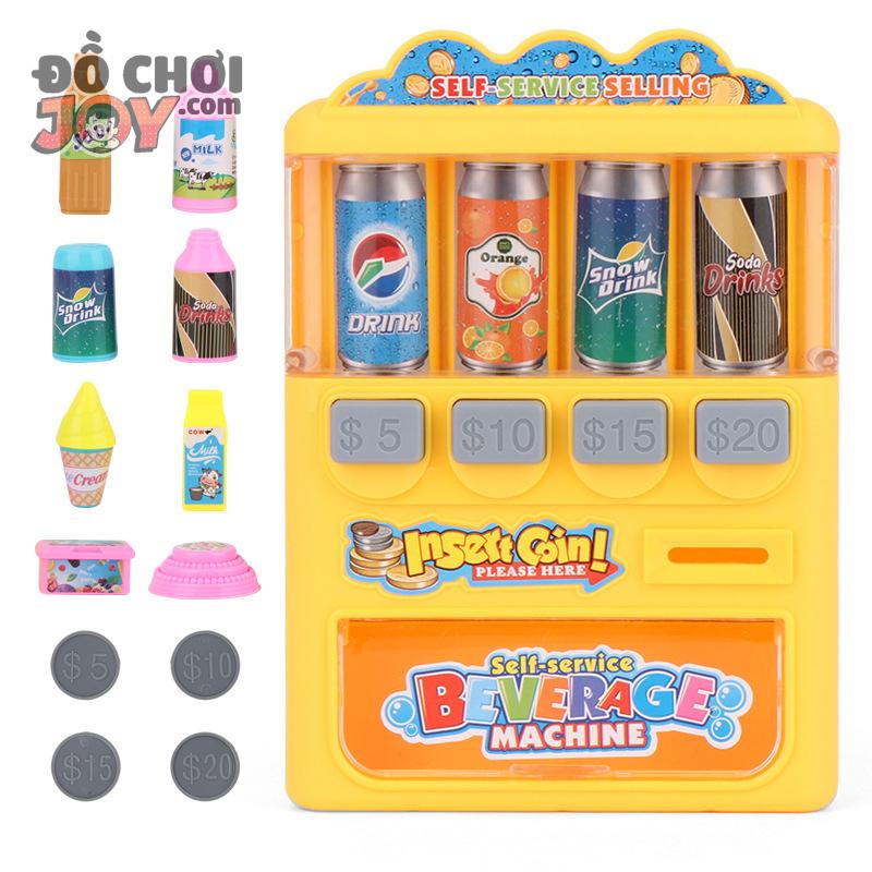 [Hàng Order] Máy bán nước ngọt đồng xu 13 chi tiết - Đồ chơi bán hàng
