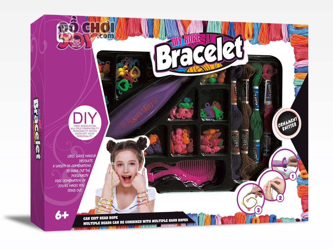 [Hàng Order] Máy đính hạt cườm lên tóc cho bé gái