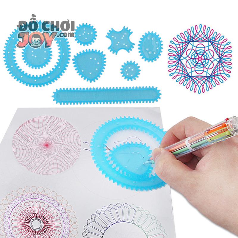 [Hàng Order] Bộ thước sáng tạo nghệ thuật - Art Design 3332.3
