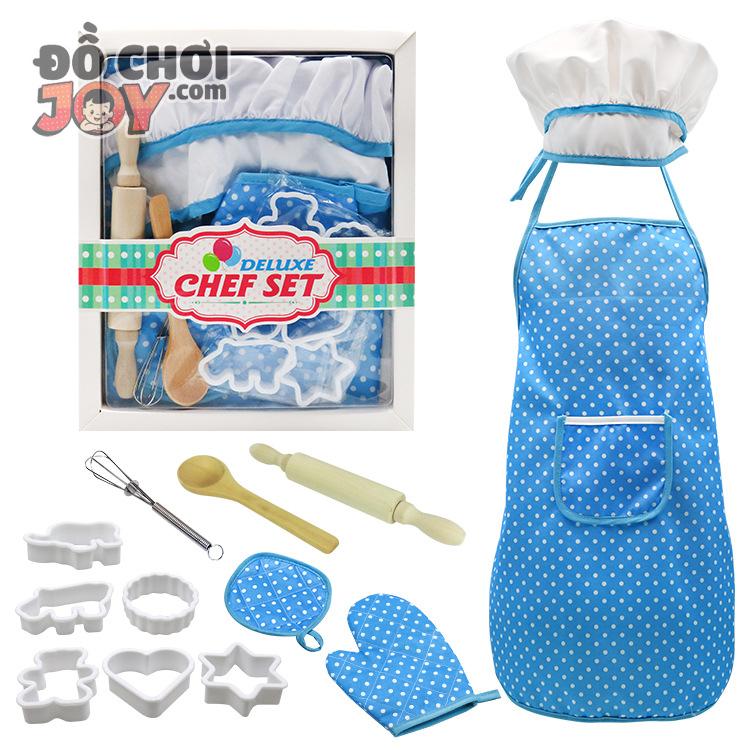 [Hàng Order] Bộ đồ chơi làm bánh kèm tạp dề cho trẻ em