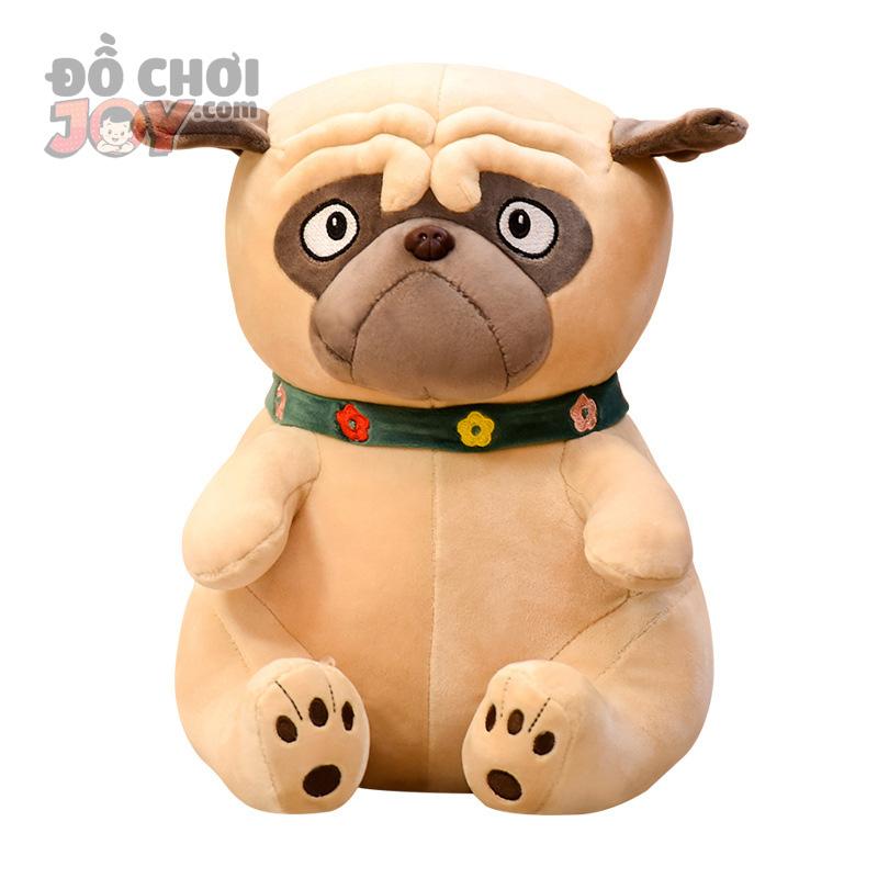 [Hàng Order] Thú bông hình chó PUG đáng yêu cho bé cưng size 55cm