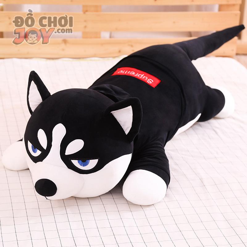 [Hàng Order] Thú nhồi bông chó Husky đại ngáo size 80cm