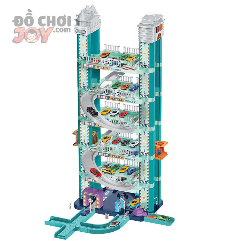 [Hàng Order] Mô hình đường thành phố 7 tầng cho xe ô tô - đồ chơi con trai