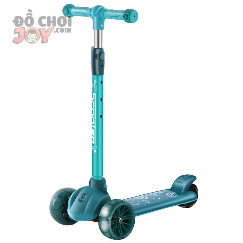 [Hàng Order] Xe scooter 3 bánh có đèn led chịu lực 80kg