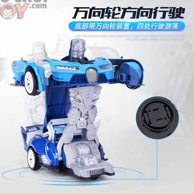 [Hàng Order] Xe đua biến hình robot tự động cho con trai