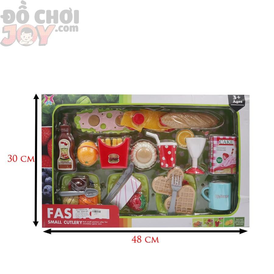 Đồ chơi tiệm bánh cho trẻ em - FASHION SMALL CUTLERY