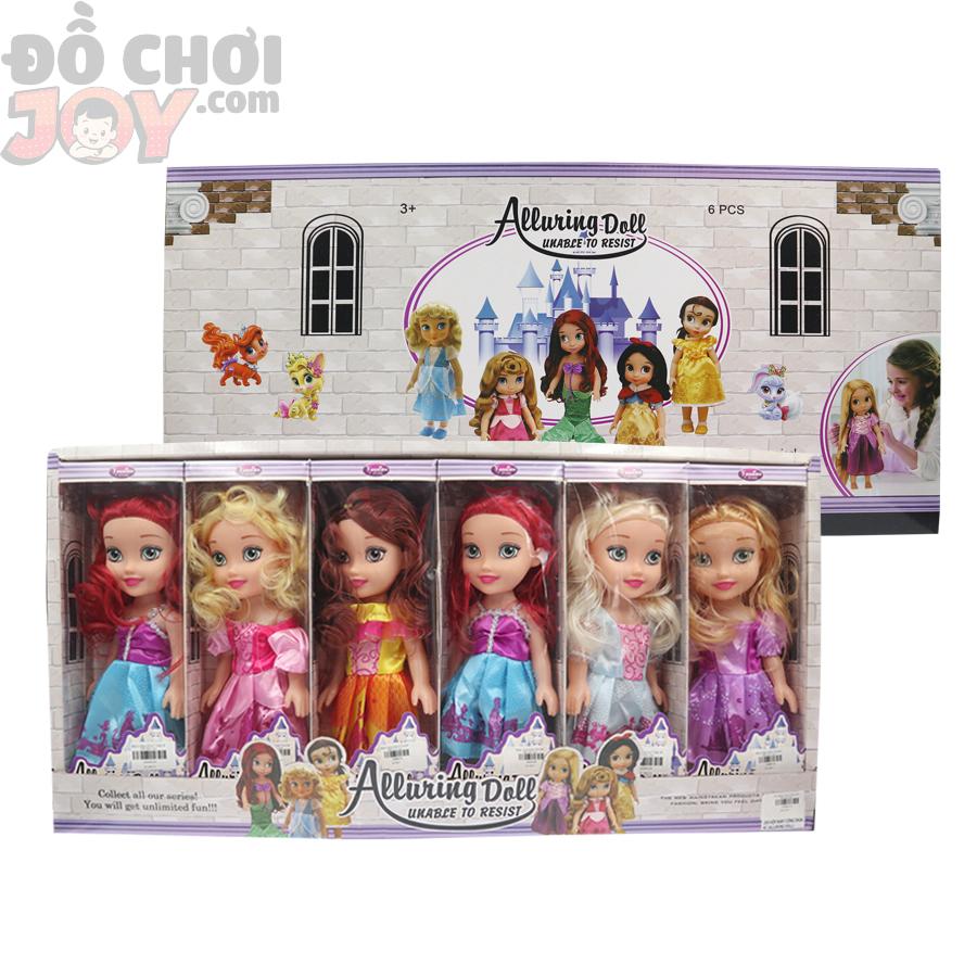 ALLURING DOLL - Bộ 6 Búp bê Barbie Công Chúa Cổ Tích