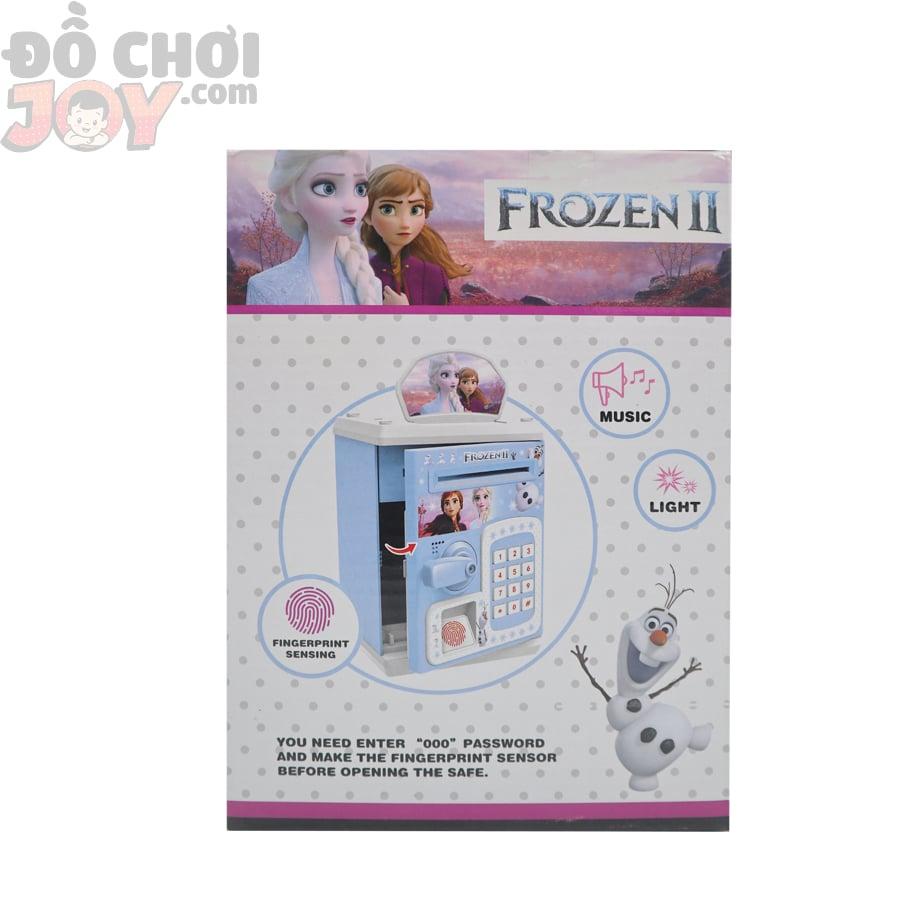 Hộp Ống Heo Atm Vân Tay Frozen - Dùng Pin