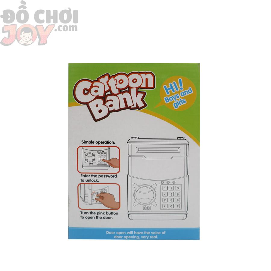 Hộp Ống Heo ATM Hello Kitty - Dùng Pin