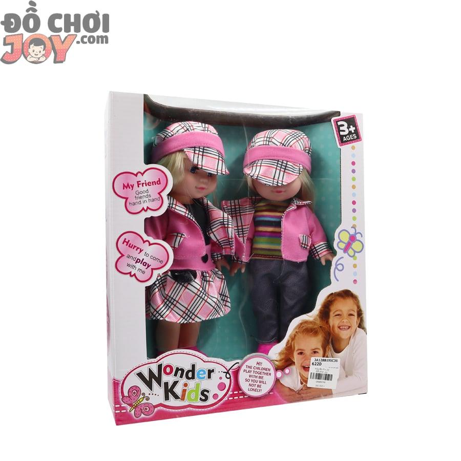 Hộp 2 búp bê sinh đôi Wonder Kids