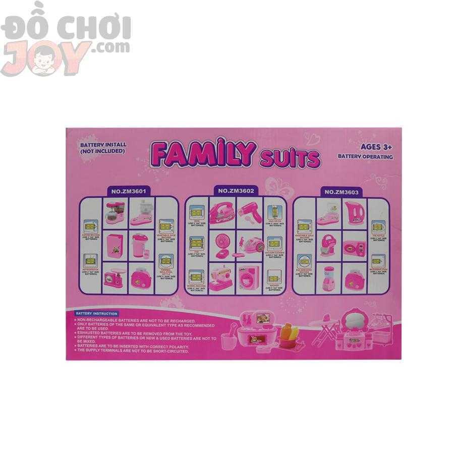 Dụng cụ nhà bếp 6 món - Family Suit