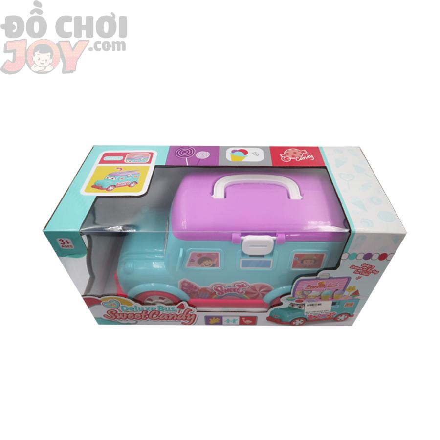 Hộp Xe Bus Quầy Kem, Kẹo - Deluxe Bus Sweet Candy