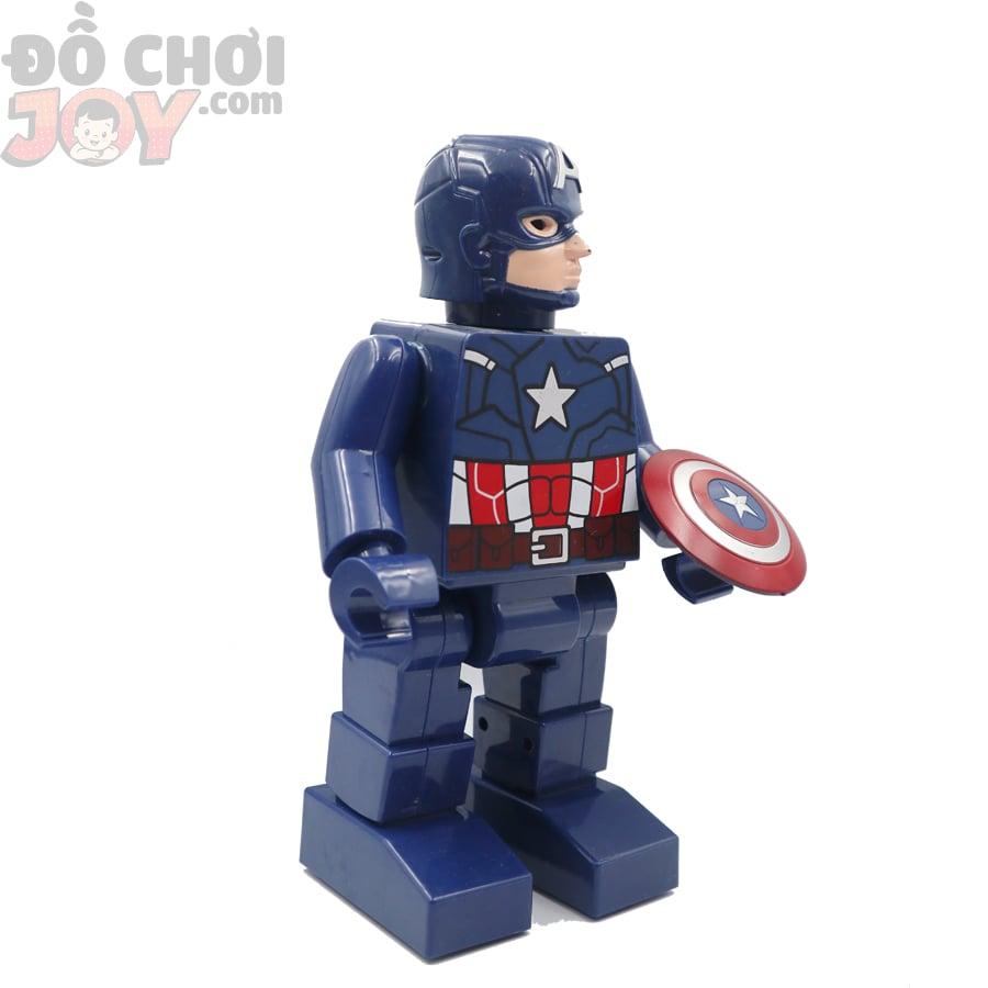 Hộp Robo Avenger cực ngầu - Captain America