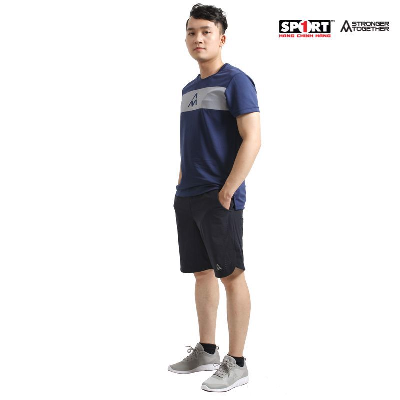 Áo AM Tshirt men MT001 Navy