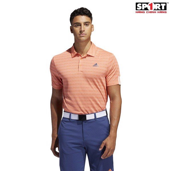 Áo golf adidas 3 ST STRIP POLO nam FL2929 1