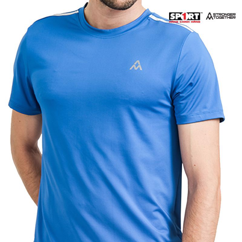 Áo Tshirt nam AM MP077 strongblue