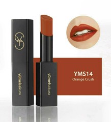 Son thỏi lì Matte Revolution Yumeisakura YMS14 - Orange Crush - Cam đất