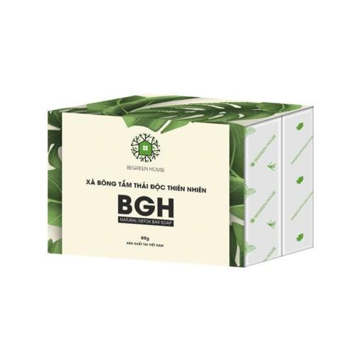 Xà Bông Tắm Begreen House – Natural Detox Bar Soap