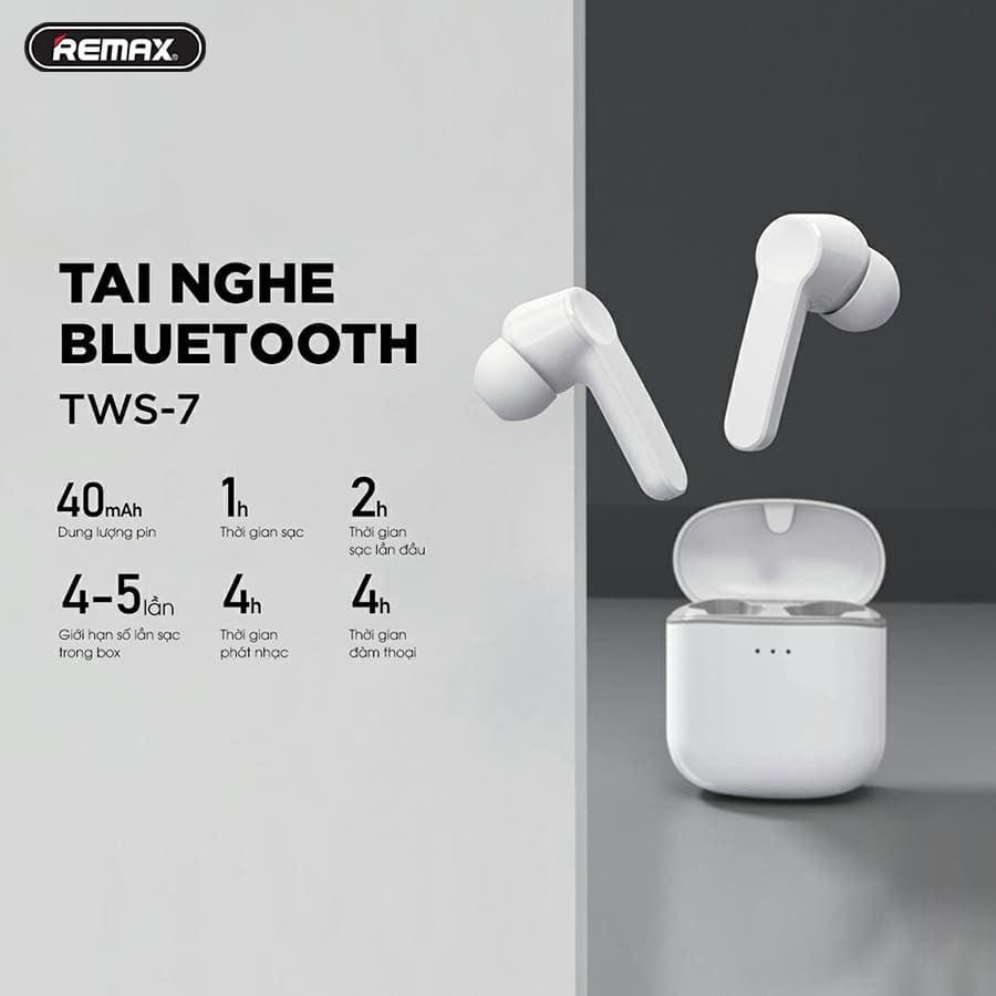 Tai nghe Bluetooth Remax TWS7
