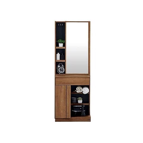Bàn trang điểm - DIAGO/ DRESSING TABLE/ DT60/ AUTUMN BROWN/ DARK GRAY/ 19135720