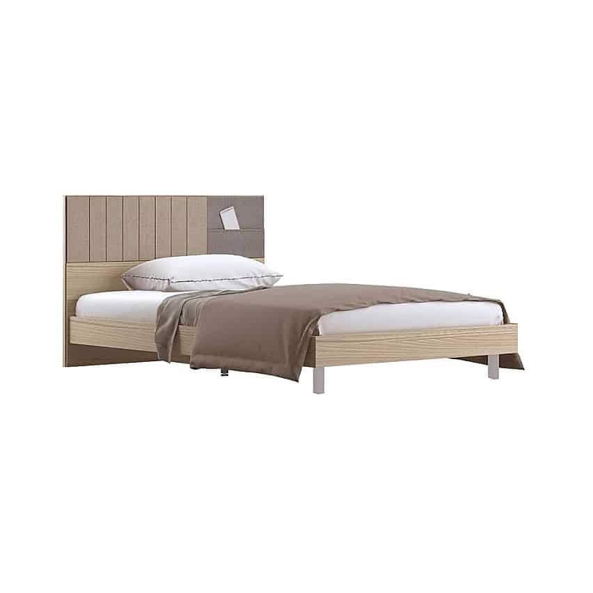 Giường - ECONI BED BW3.5'/A/ LEGS A/CANYO/ITW/FABRIC GRAY