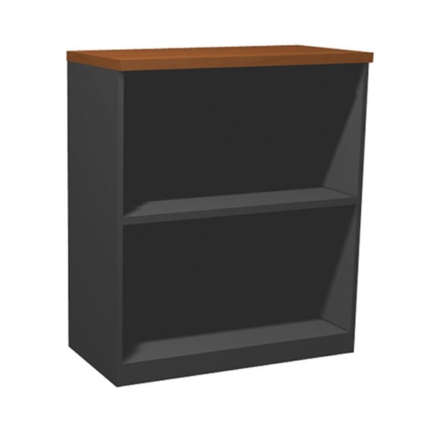 Tủ dưới + cửa - ABLE LOW CABINET LC080/ DO05-083(2)/ DARK GRAY/ CHERRY/ 19062286