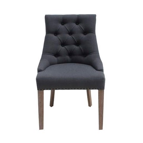 Ghế ăn - CHAIR BART/ WOOD BLACK/ DARK GRAY/ 19088104