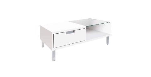 Bàn cà phê - COFFEE TABLE WISH#4 CF80/ WHITE/ 19090655
