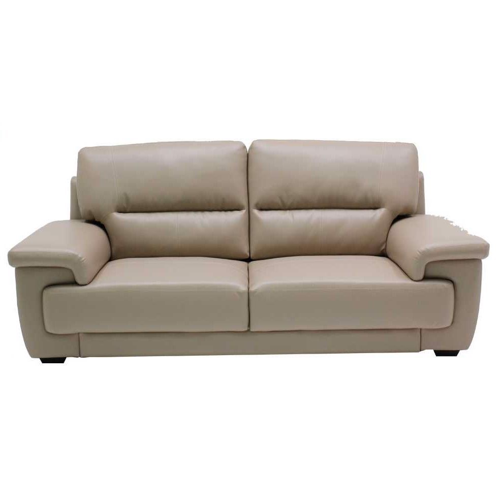Ghế sofa - SOFA 3SEATS UJITA#3/ SL LIGHT BROWN/ 19115987