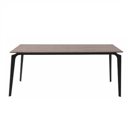 Bàn ăn - DINING TABLE/ JAYRUN-A180/ BLACK/ VENEER WALNUT/ 19128166