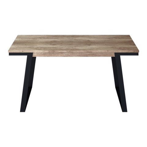 Bàn ăn - DINING TABLE/ NISEY-A160#2/ BLACK LEG/ ZGV SMOKE TIM/ 19142552