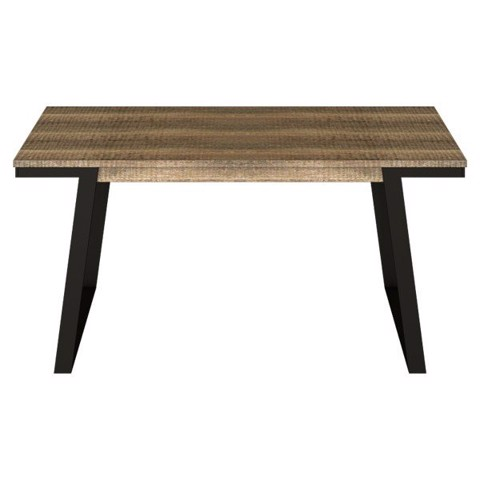 Bàn ăn - DINING TABLE/NISEY-A160#2/BLACK LEG/ZGV HAZEL TIM