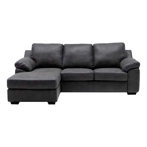 Ghế sofa - SOFA/ MUTO/ DARK GREY FABRIC/ LEFT CORNER/ 19145626