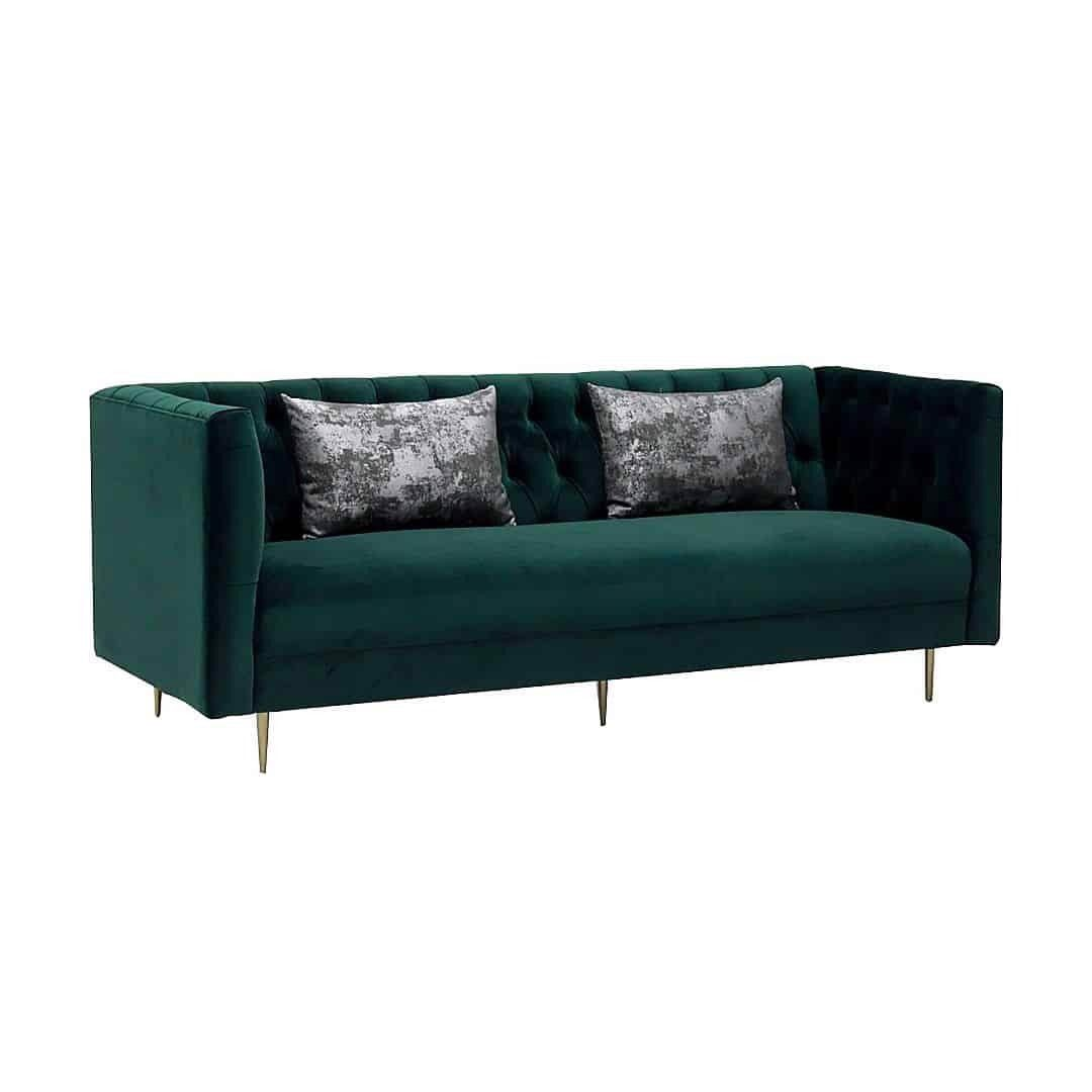 Ghế sofa - SOFA/ADDRESS/GOLD/GREEN VELVET/3S