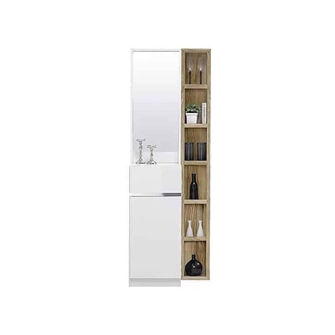 Bàn trang điểm - PATHENOZ/DRESSING TABLE/DT60/WHITE/PHG WHITE-LINDBERG OAK