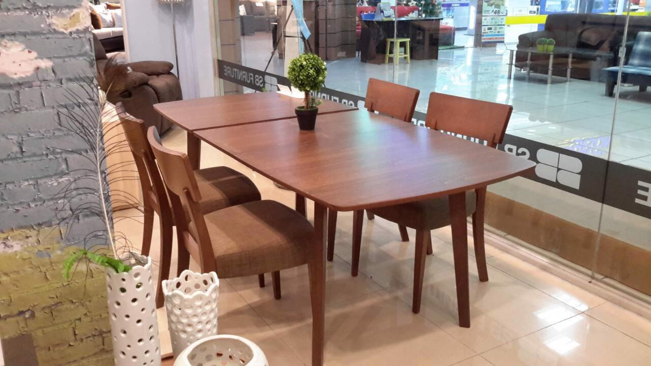 Bàn ăn - DINING TABLE ENLAND-A150/BEECH/VENEER WALNUT