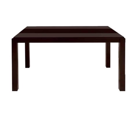 Bàn ăn - DINING TABLE VICTOR#3/ WENGE/ SMOKED GLASS/ 19081432