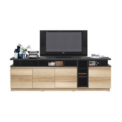 Kệ tivi - TYLER/ SIDEBOARD/ TV180/ LINDBERG OAK-DARK GREY/ 19140517