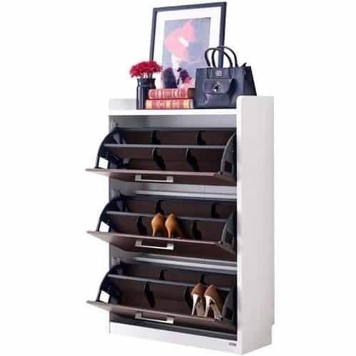 Tủ đựng giày - ELMO/SHOES CABINET/SH80/WHITE/WENGE