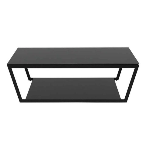 Bàn cà phê - COFFEE TABLE JACKSON#2/ BLACK LEG/ BLACK GLASS/ 19125711