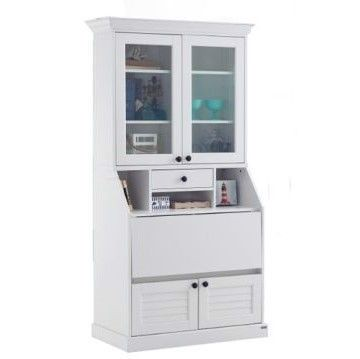 Tủ kệ đứng - MAHONY TALL CABINETCT90/ WHITE/ 19086684