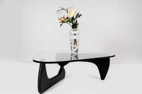 Bàn cà phê - COFFEE TABLE EMBER#2(CT3001)BLACK/ GLASS/ 19060130