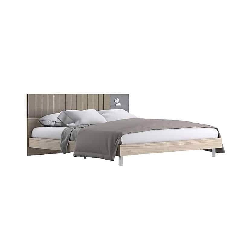 Giường - ECONI BED BW6'/A/ LEGS A/CANYON/I-TW/FABRIC GRAY