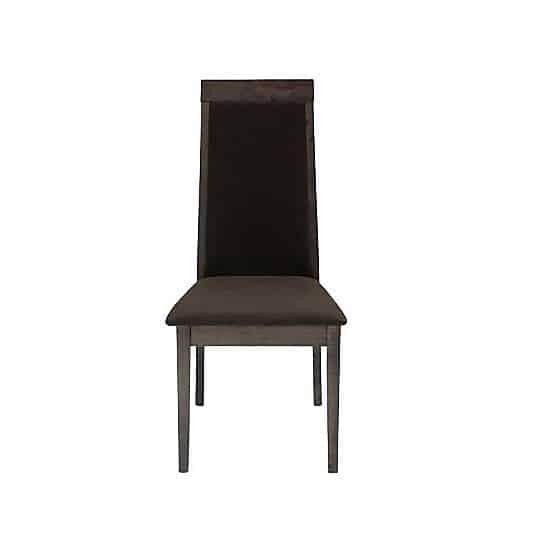 Ghế ăn - CHAIR IRVIN#IVC-1036/ CHACOAL/ DARK BROWN/ 19068244