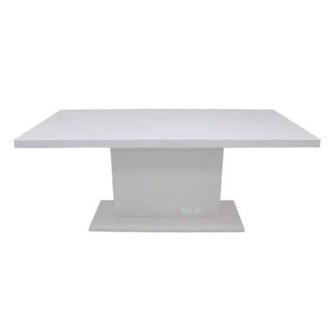 Bàn ăn - DINING TABLE JOCASTA#DM-180/HG WHITE